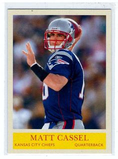 Sports Cards - 2009 Philadelphia Matt Cassel