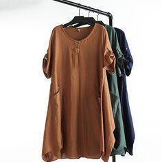 Aliexpress.com: Comprar C1 Summer Casual Vestidos de Las Mujeres Más Tamaño Ropa…