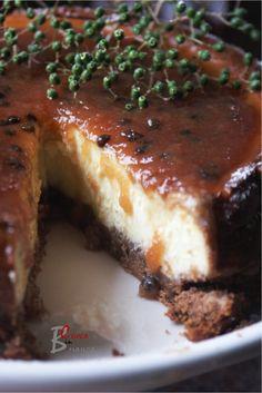CHEESECAKE PERA E SAMBUCO | cuoca nella brianza