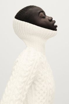White Fishermens sweater/ aran knit/ cable roll neck sweater