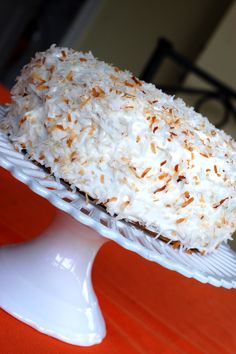Put the lime in the coconut cake: recipe at foodnetwork.com.