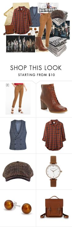 """NEWSIES BUT LIKE TODAY CLOTHES"" by adventuure ❤ liked on Polyvore featuring White House Black Market, Timberland, Diverso, RVCA, Olivia Burton, Bling Jewelry, The Cambridge Satchel Company, newsies and musical"