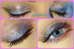 Silver eyeshadow <3