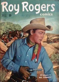 Grandes Heróis do Faroeste nos Gibis :: 70 ANOS DE GIBIS Colt 45, Real Movies, Old Movies, Dale Evans, Best Comic Books, Rock Lee, Roy Rogers, Happy Trails, Le Far West