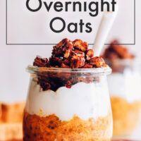 Oatmeal Flavors, Oatmeal Recipes, Food Experiments, Vegetarian Breakfast Recipes, Baker Recipes, Plant Based Nutrition, Breakfast Options, Fall Treats, Overnight Oats
