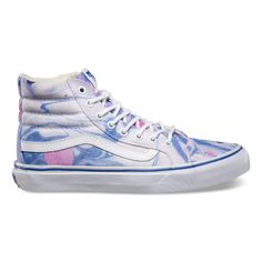 Absolutely in love with these Marble Sk8-Hi Slims. Vans in pastel colors for Spring