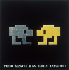 John Fekner & Don Leicht YOUR SPACE HAS BEEN INVADED