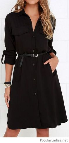 comfortable-shirt-dress.  I want one of these,  but haven't actually found 1 I like...*sef*