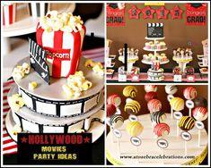 Graduation Hollywood Movies Celebration http://atozebracelebrations.com/2013/08/graduation-hollywood-movies-celebration.html