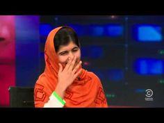 ▶ Malala Yousafzai amazing answer on The Daily Show with Jon Stewart √ - YouTube