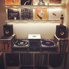 Do you need speakers for a vinyl player? Our list with the best speakers for vinyl will totally satisfy you! Best Speakers For Vinyl, Dj Pics, Passive Speaker, Floor Standing Speakers, Mdf Cabinets, Butyl Rubber, Dj Setup, Cool Bookshelves, Dj Gear