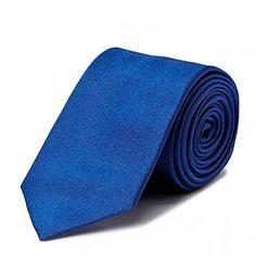 Blå Hugo Boss slips - ModeJagten.dk