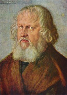 Albrecht Dürer - Portrait of Hieronymus Holzschuher