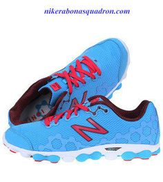 Barefoot Running With The New Balance Minimus Ionix 3090 Womens Water Blue Gym Red White Mens Running Sneaker