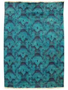 nuLOOM OVERDYED IKAT HAND-KNOTTED RUG