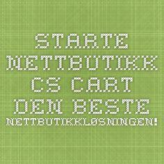 Starte nettbutikk - CS-Cart - den beste nettbutikkløsningen!