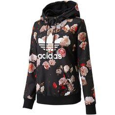 want this Adidas floral sweatshirt!