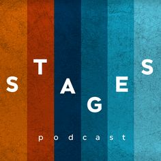Stages - a performing arts podcast Science Podcast, New Poster, Custom Posters, Graphic Design Inspiration, Cover Art, Cover Design, Album, Logos, Illustration