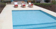 Construccion de piletas de natacion y piscinas | PerPool Florida Pool, Concrete Deck, Outdoor Spaces, Outdoor Decor, Dream Pools, Plunge Pool, Pool Decks, Pool Landscaping, Interior Exterior