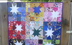 Bring the beautiful night sky into your quilt studio with this wonky quilt block tutorial that's easy enough for beginners. This Scrappy Wonky Star Block Tutorial is the perfect way to practice making wonky stars by using up your fabric scraps. Modern Quilt Blocks, Star Quilt Blocks, Star Quilt Patterns, Star Quilts, Scrappy Quilts, Easy Quilts, Block Quilt, Canvas Patterns, Sewing Patterns