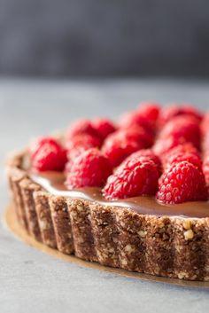 Almond-Chocolate-Raspberry-Tart-1