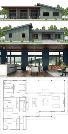House Designs, Home Plans, House PlansYou can find Floor plans and more on our website.House Designs, Home Plans, House Plans Design Home Plans, Rustic Home Design, Modern House Design, Small House Plans, Dream House Plans, House Floor Plans, Cool House Plans, Modern Floor Plans, Casas Containers