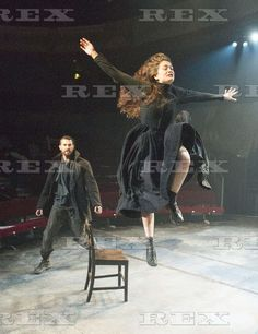 The Crucible at The Old Vic... Richard Armitage and Samantha Colley.
