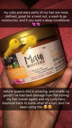 absolutely amazing mauimoisture com Natural Hair Care Tips, Curly Hair Tips, Curly Hair Care, Natural Hair Growth, Natural Hair Regimen, 4c Hair, Curly Hair Styles, Natural Hair Styles, Good Natural Hair Products
