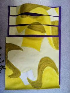 Mrs. Byrd's Elementary Art Studio: Monochromatic Paper Sculpture