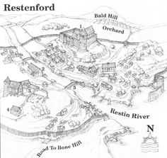 restenford maps D&D - Google Search