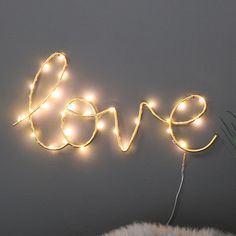 Gold Metal Light Up 'Affection' Sign - Melody Maison Light Up Love Sign, Light Up Words, Light Up Signs, Pineapple Room, Diy Room Decor, Bedroom Decor, Gold Walls, Bedroom Accessories, Love Signs