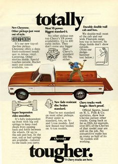 1971 CHEVROLET C20 Information Specifications Resources Pictures