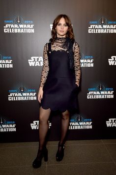 Felicity Jones Photos - Felicity Jones attends the Star Wars Celebration 2016 at ExCel on July 15, 2016 in London, England. - 'Star Wars' Celebration