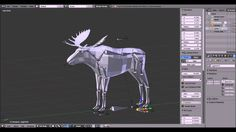 Animate a Moose in Blender - Part 1 The Rig