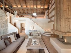 Built in 1680, this beautifully restored home is ideally located near St. Moritz, a luxury alpine resort town in Switzerland's Engadin valley.
