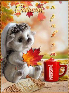 Good Night Gif, Gifs, Nescafe, Good Morning, Rabbit, Animation, Autumn, Printables, Chocolate