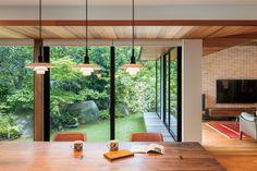 Japanese Modern House, Modern Japanese Architecture, Japanese Interior Design, Interior Design Kitchen, Architecture Design, Dream Home Design, House Design, Hidden Rooms, Minimalist Home