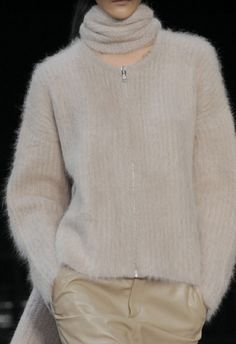 Helmut Lang Fall 2014 _... yes my mom  knitted sweaters just like this one back in the day!