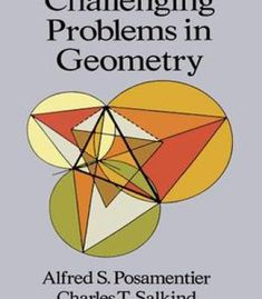 Challenging Problems In Geometry PDF