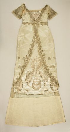 Evening Dress, House of Worth 1908, French