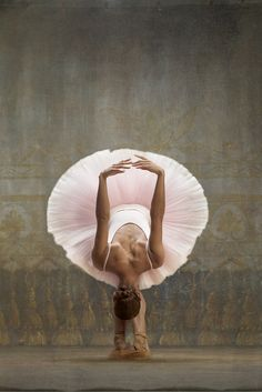 Misty Copeland Principal dancer at the American Ballet Theatre. In Harper's Bazaar shoot to recreate iconic paintings and sculpture from impressionist painter Edgar Degas.