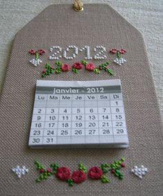 Cool calendar finish...