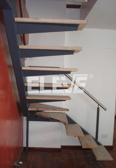 escaleras voladas con vigas - Buscar con Google