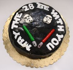 Star wars 28th birthday cake