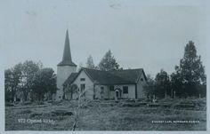 Hedmark fylke Sør-Odal kommune Oppstad kirke 1920/30-tallet utg Carl Normann, Hamar