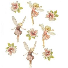 Flower fairies wall sticker from Aspace | Wall stickers for ...