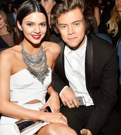 Kendall Jenner & Harry Styles at the American Music Awards