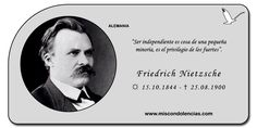 Friedrich Nietzsche - Filósofo, Poeta y Filólogo Alemán.