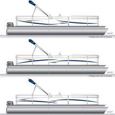 Pontoon Graphics  Decal Kit PontoonStuffcom Pontoon Boat - Custom pontoon decals