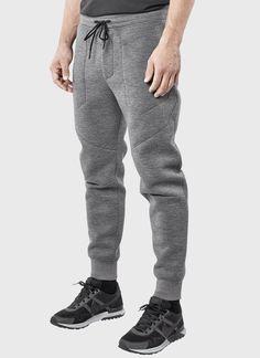 ISAORA | Neo Tech Bonded Sweatpant (Grey)
